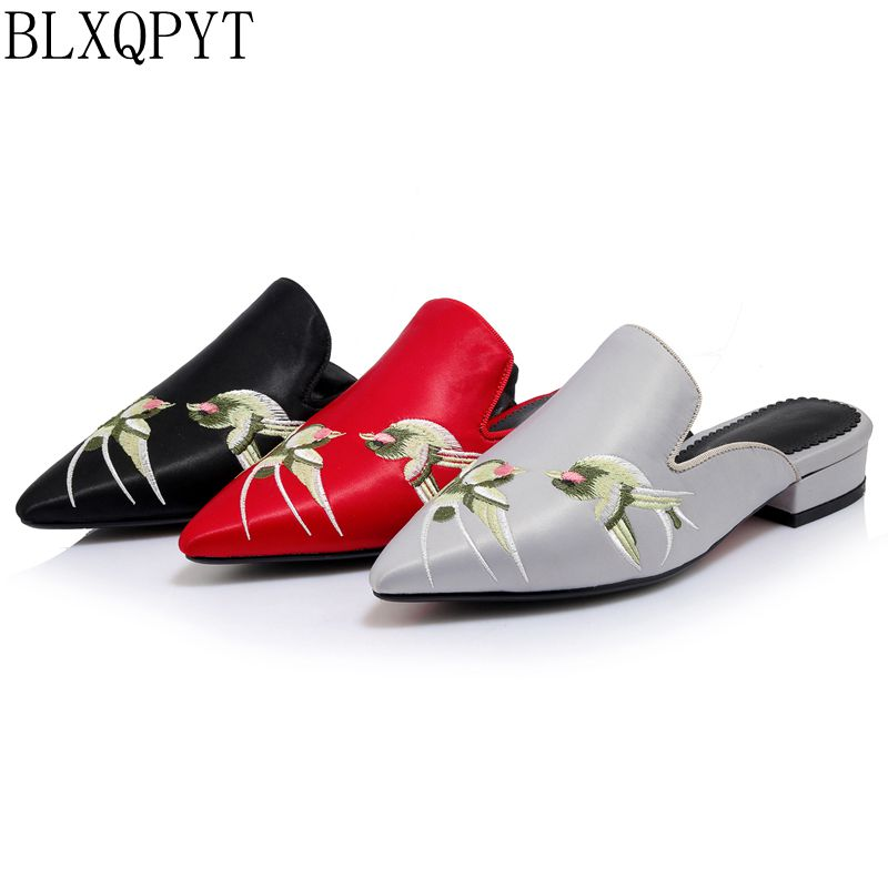 2017 Sandalias Mujer Sapato Retro  Fashion Big Size Spring Summer Style Women Shoes Casual Home Beach Sandals Slippers 1028-1
