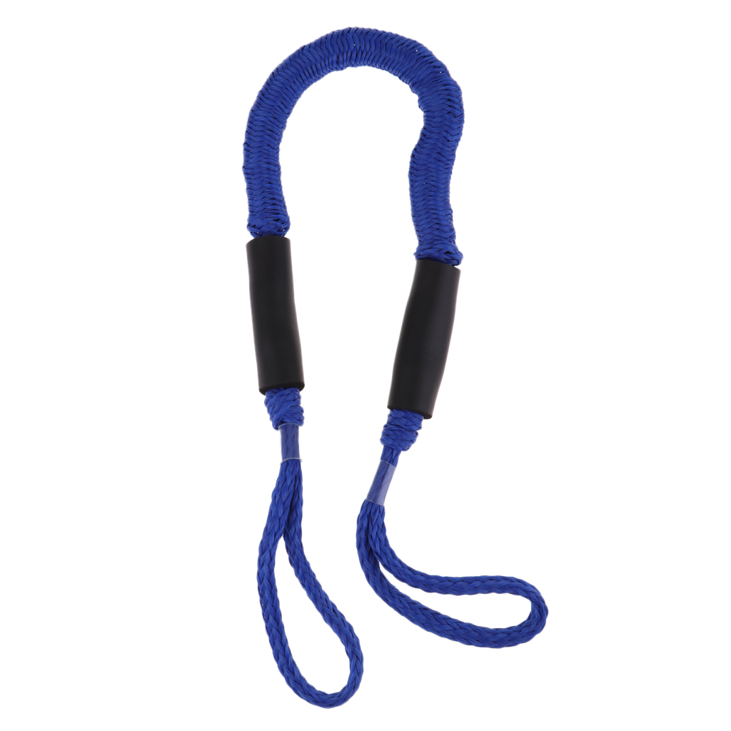 5 Foot Heavy Duty Nylon Marine Mooring Rope Boat Bungee Dock Line Anchor Rope Anchoring Docking for Camping Hiking Accessories