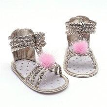 3c56297eae Venda quente de verão moda Romana sandálias meninas crianças sapatos 2018  sapatos de praia plana sandálias
