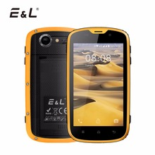 E & L W5 мобильного телефона Android оригинальные телефоны Водонепроницаемый ударопрочный телефон 4 ядра сенсорный телефон смартфон 4 г разблокирована телефонов