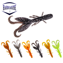 12pcs/lot Soft Bait Fishing Lures 5.5cm 1.4g Artificial Craws Soft Lure For Fish Wobblers Shrimp Bass Bait Peche Fishing Tackle new hot 20pcs sinking soft silicone fishing lure fish lures bait tackle hook 10 1cm leurre peche hu2