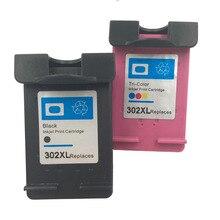 Nuevo oem cartucho de tinta de alta calidad para hp-302xl para hp deskjet 2130 1110 1115 2134 2135 3630