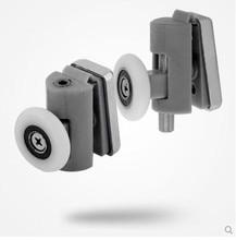 4 pairscan adjust High quality nylon shower door roller