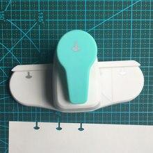 Perforadoras de setas T creativas, suministros escolares, bricolaje, cortador de papel, máquina de encuadernación de hojas sueltas