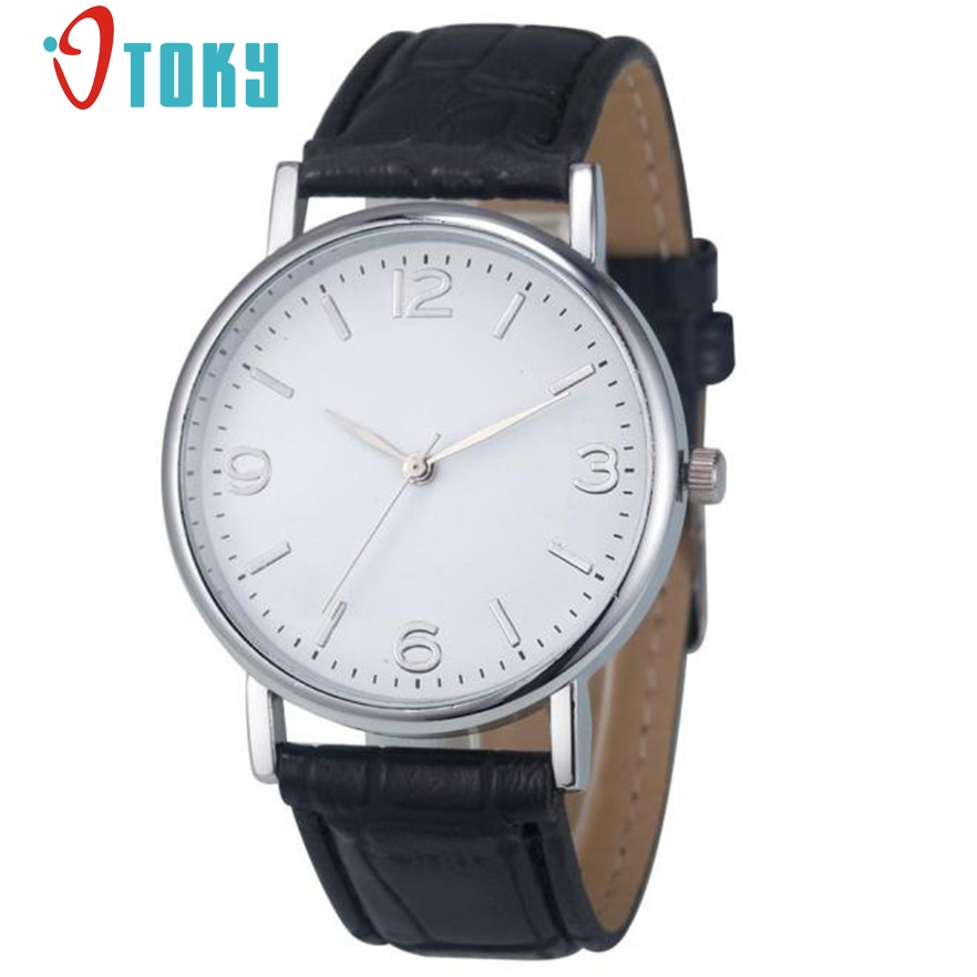 OTOKY relojes mujer watches women Casual Geneva Style Leather Quartz Wrist Watch Relogio Feminino  #20 1pcs купить
