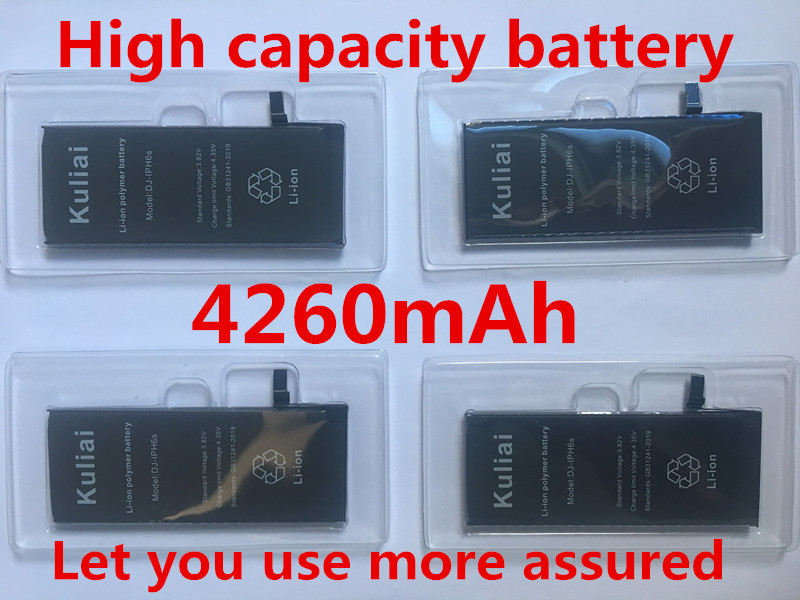 Image 4 - 4260MAh High capacity Lithium Battery For Apple iPhone 6S 8 7 6Sp 6p Replacement Batteries Internal Phone Bateria + Free Tools-in Mobile Phone Batteries from Cellphones & Telecommunications