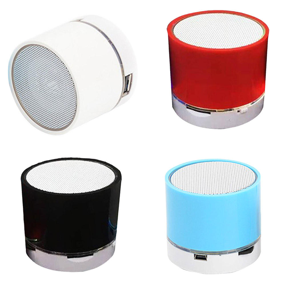 Mini Wireless Smart LED Bluetooth Music Speaker Aud