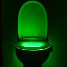 Wholesale Colorful LED Light Toilet Night Light WC Bathroom Lamp Nightlight Lighting lava Lamp Cheap