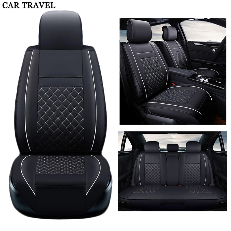Seat Covers & Supports leather auto Universal sport Car Seat Cover set Fit most cars single summer cool Car Seats Protector hot