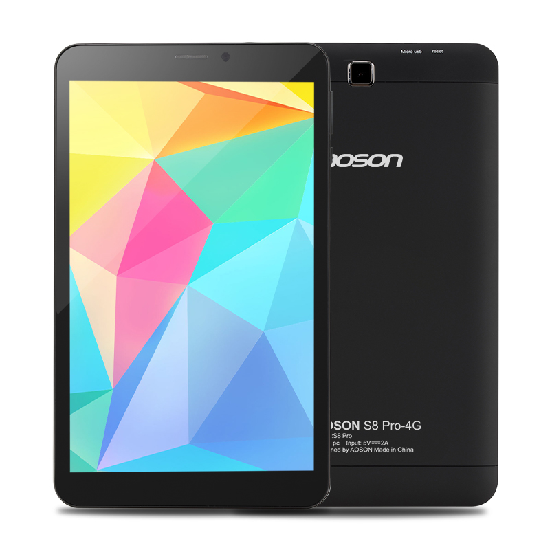 Aoson PC Game-Tablet Bluetooth Phone-Call 16GB 8inch 3G/4G IPS OTG S8pro Entertainment