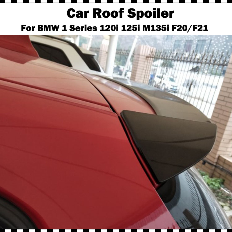 For BMW F20 Spoiler 2012 2018 1 series 116i 120i 125i M135i F21 Roof Spoiler wing Car ABS Rear Spoiler in Spoilers Wings from Automobiles Motorcycles