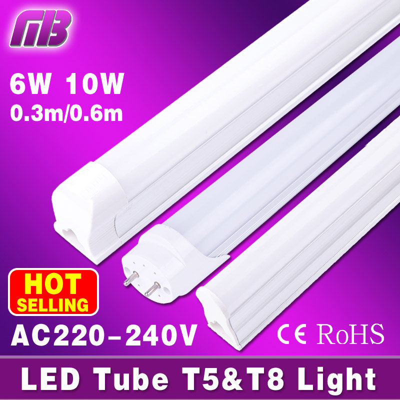 [MingBen] HOT Sale! T8 Led Tube High Super Bright 6W 10W Warm White Cold White Led Fluorescent Bulbs AC85-265V Led Tubes PVC new notebook laptop keyboard for asus mp 06913us 5281 k012462a1 sp layout