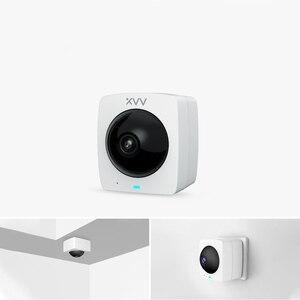 Image 4 - Youpin XiaoVV inteligentna kamera panoramiczna IP HD 1080P 360 ° panoramiczna AI humanoidalna detekcja wersja nocna praca z inteligentną aplikacja domowa
