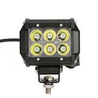 最高価格 1 ペア 4 インチ 18 ワット Offroads Led ワークライトバー駆動 12 V-24 V トラックオートバイボートトラクター照明