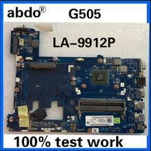 Abdo VAWGA/GB LA-9912P материнская плата для ноутбука lenovo G505 системная плата AMD cpu DDR3 тестовая работа