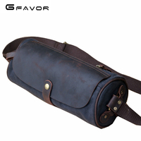 Men Canvas Waist Pack Male Travel Waist Purse Female Vintage Belt Bag Women Waist Pack For Work Mobile Phone Walking Bag YD1982