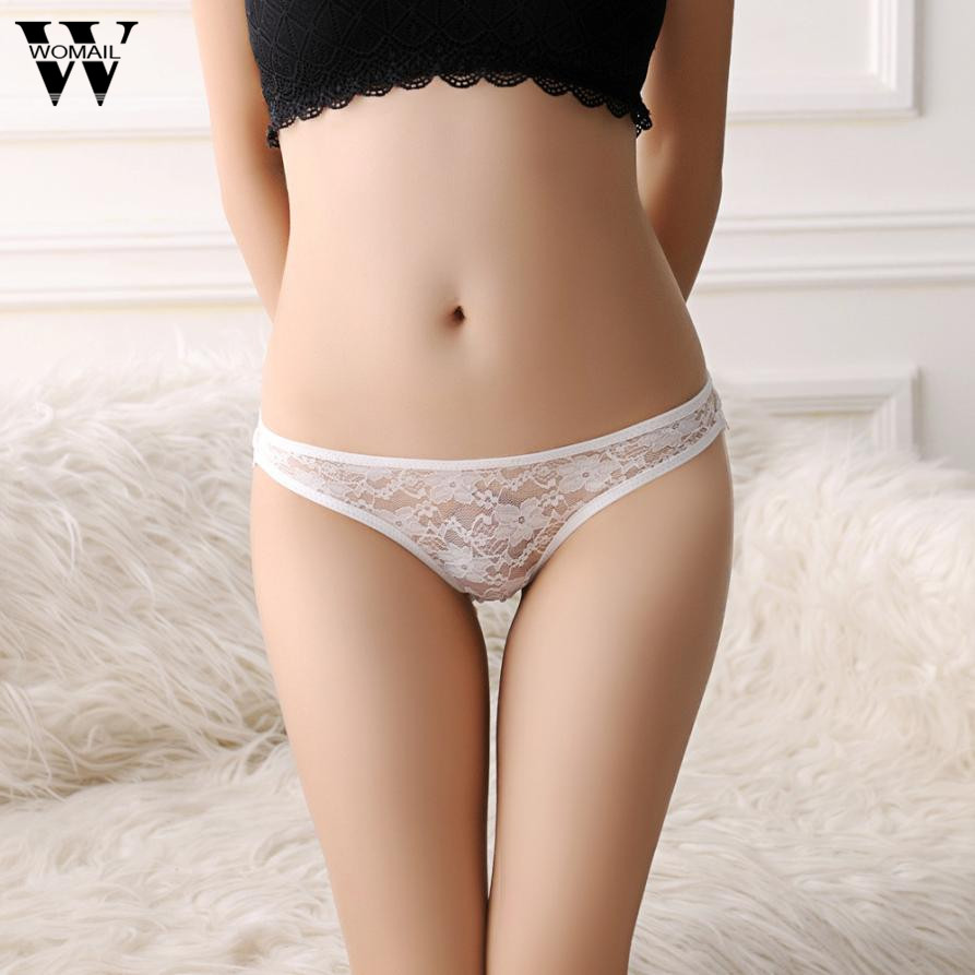 Womail Women Panties Sexy Lace Underware For Lady 2017 Women Briefs Lace Panties Thongs G-string Lingerie Underwear Dec13