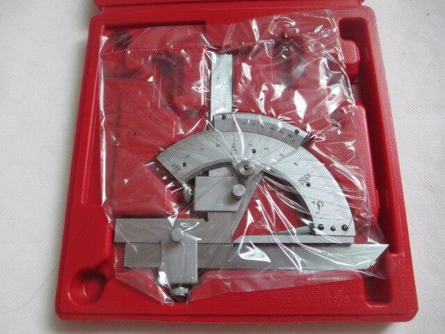 Fixmee durável 0-320 graus precisão ângulo de medição finder universal chanfro transferidor ferramenta