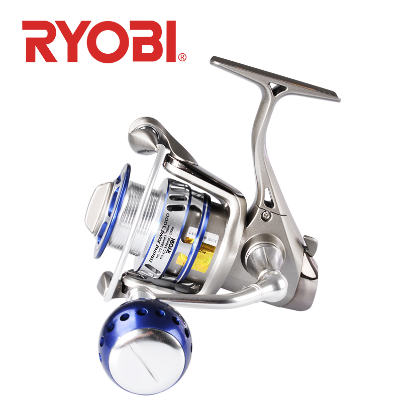 100 original RYOBI Fishing King sipnning fishing reel1000 4000 6000 series 6 1BB gear ratio 5