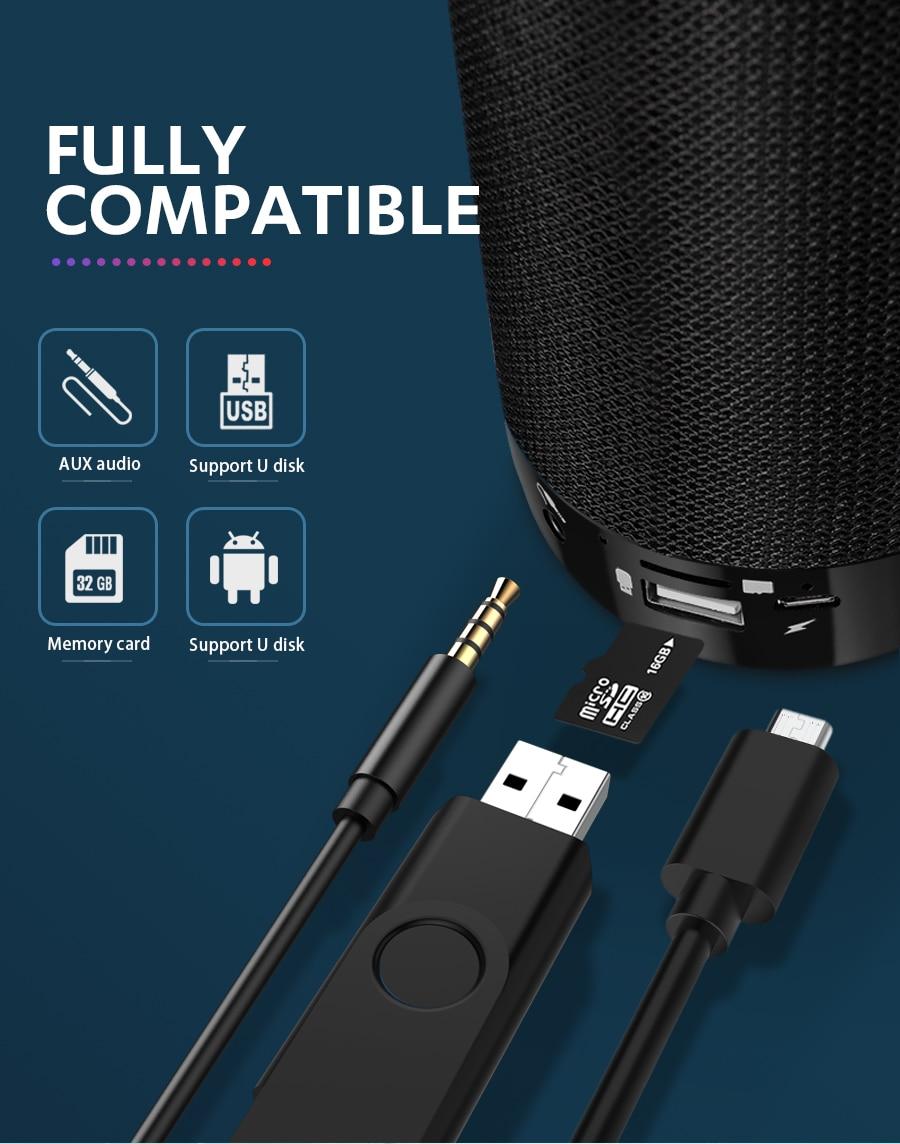 Mini Enceinte Bluetooth portable Étanche