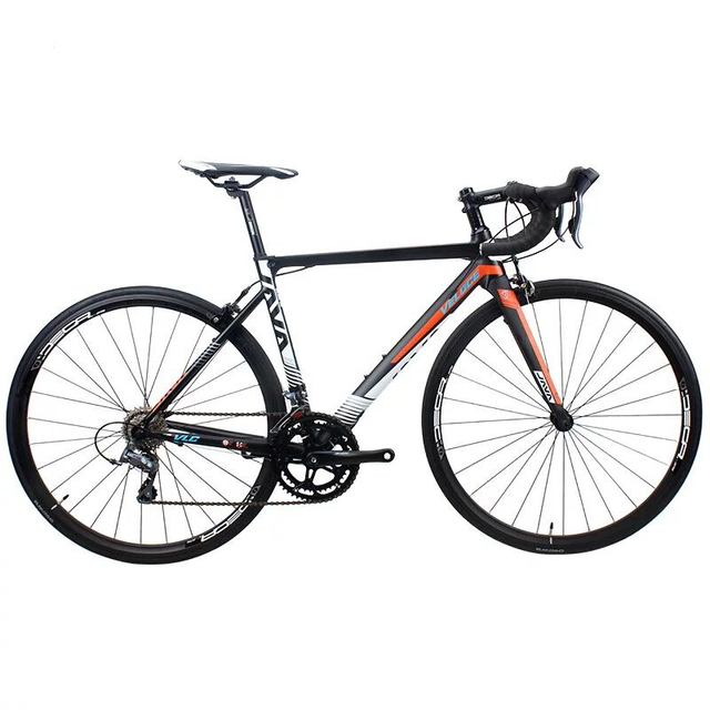 New JAVA VELOCE2 Road Bicycle Aluminum Alloy 16 Speed Unisex Road Bicycle Carbon Fork Smooth Welding Frame Road Bicycle