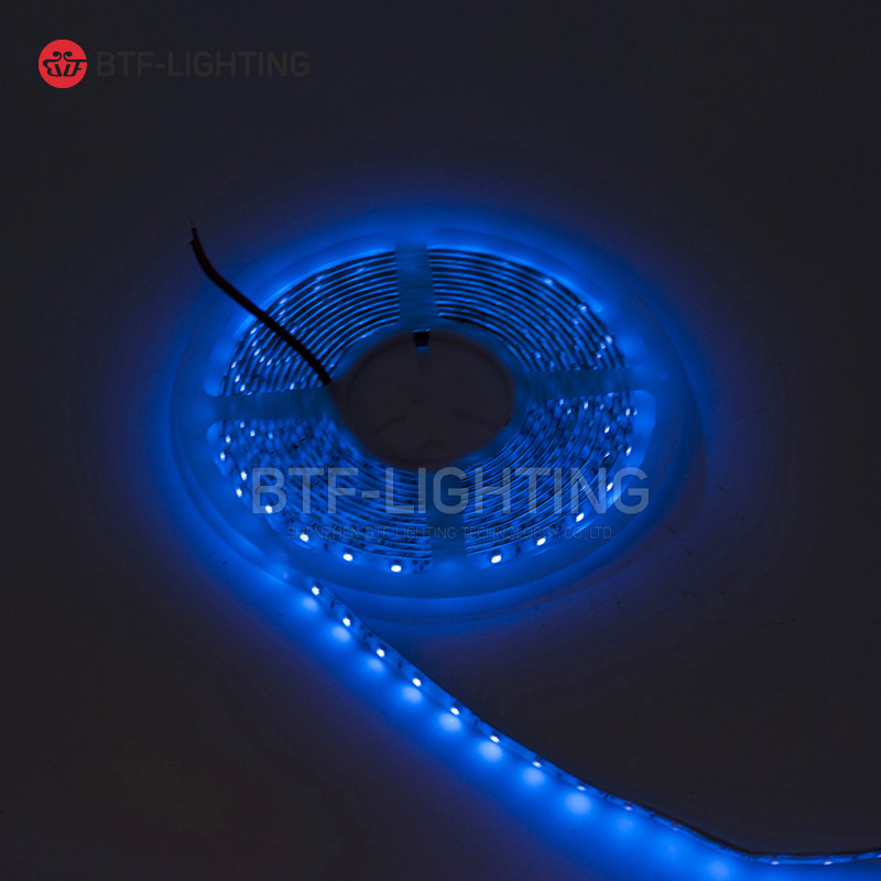 5M 16.4ft <font><b>UV</b></font> <font><b>LED</b></font> <font><b>Strip</b></font> 395nm 3528 SMD Purple 300 <font><b>LED</b></font> Flex <font><b>Strip</b></font> Light IP65 Waterproof <font><b>LED</b></font> Light 12V image
