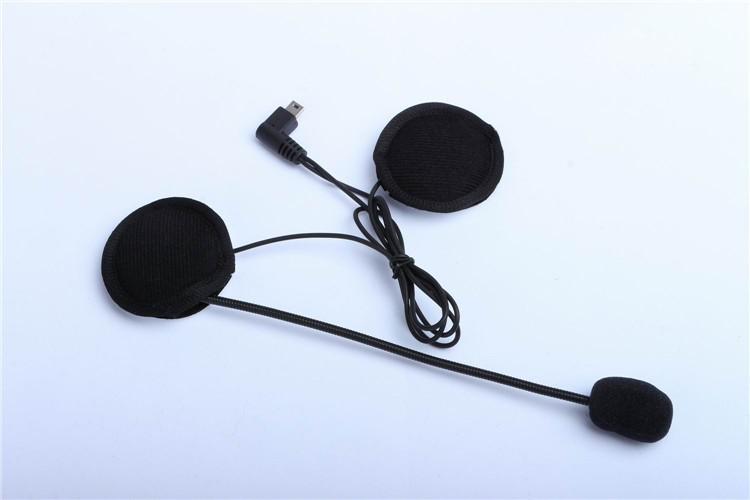 500M Wireless Bluetooth Motorcycle Helmet Intercom for 2 Riders Interphone Earphone Headset 1PcsSet (13)
