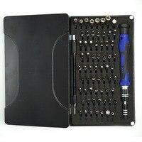 64 em 1 portátil multifunções reparação do telefone móvel chave de fenda conjunto casa eletrônica tablet pc reparos ferramentas manuais