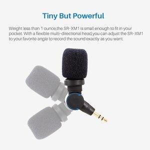 Image 5 - Saramonic SR XM1 3.5mm Wireless Microphone GoPro Vlog Video Mic for GoPro Hero 9 8 7 6 5 DJI Osmo Action Osmo Pocket