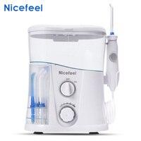Nicefeel FC188G Dental Water Jet Oral Care Teeth Irrigator Oral Hygiene Dental Water Flosser 1000ml Water