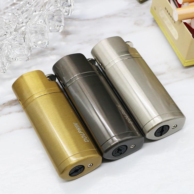 Three Nozzle Metal Turbo lighter Butane Electronic Lighter 1300C Cigar Cigarette Lighter gas Lighters smoking accessories