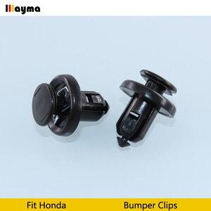 Image 3 - Пластиковые клипсы для автомобильного бампера, фиксаторы фиксации, заклепки, дверная панель, брызговик для Honda Civic CRV Accord odysey