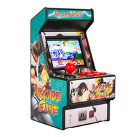 156 Games for Sega Megadrive Retro Mini Arcade Game Console with 2.8 Inch Colorful Display Rechargeable Battery AV output to TV