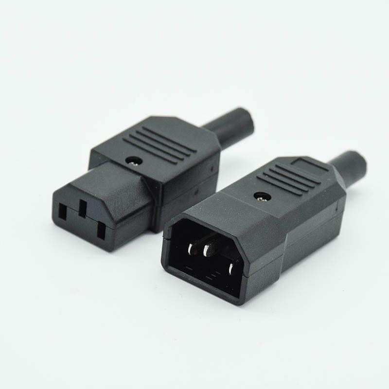Rewireable Plug IEC Mains Connector