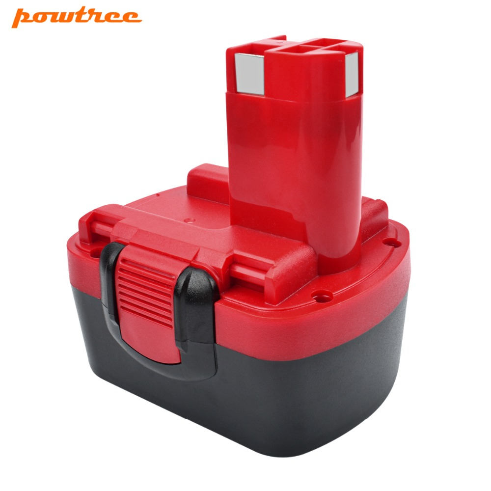 Powtree Pour Bosch 1x14.4 v 3000 mah BAT040 Batterie Rechargeable GHO 14.4 v GHO 14.4VH GLI 14.4 v 2607335711 BAT038 BAT041