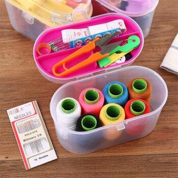Mini Home-Kit de costura portátil, Kit de costura con aguja y bordado...