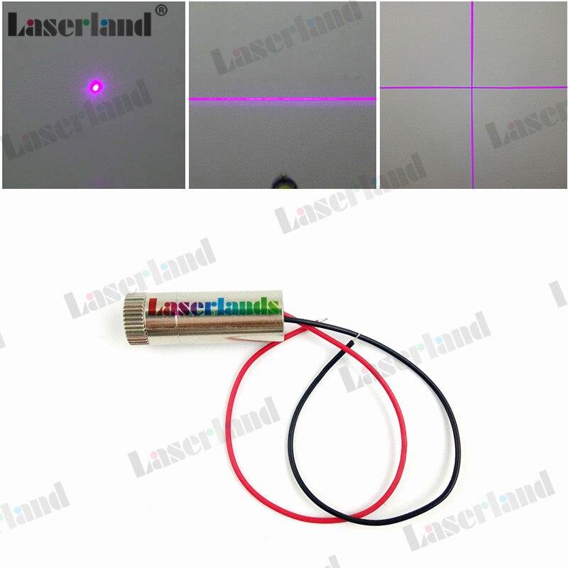 12*35mm 405nm Dot Linea Trasversale 5 mw-10 mw 20 mw 50 mw 100 mw 150 mw Viola/Blu Modulo Diodo Laser Focusable