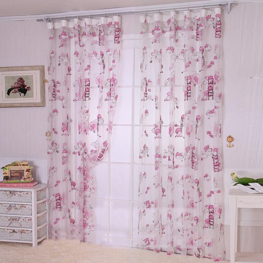 dormitorio infantil de dibujos animados oso de dibujos animados nio pao de la cortina cortina cortina