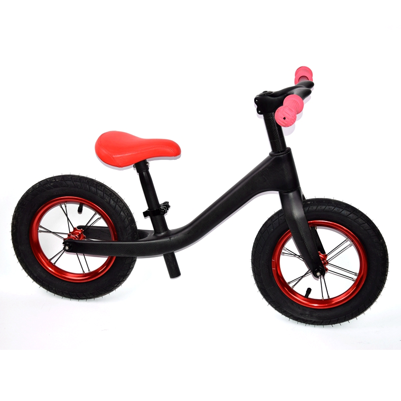 Children FUTURE Bicycle Carbon Kids 12inch Carbon Fiber Frame Balance Bicycle For 2~6 Years Old Child Carbon Complete Bike For K