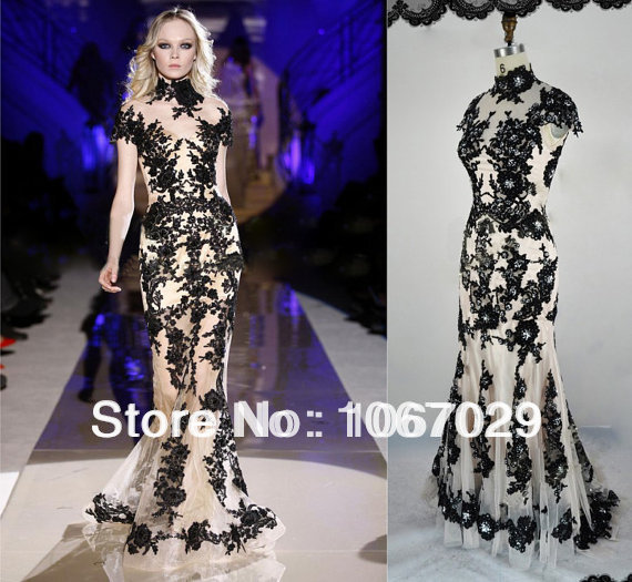 Fitted Evening Dresses 2014