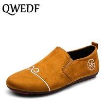 e62f13fb6f QWEDF 2018 nueva marca de moda de gran tamaño 11 zapatillas de deporte  mocasines zapatos para jóvenes Zapatos casuales de cuero .