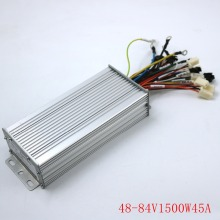 GREENTIME 15 Mosfet 48-84 в 1500 Вт 45Amax двухрежимный датчик/датчик бесщеточный контроллер двигателя постоянного тока для электрического велосипеда