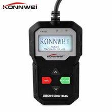 100% Original OBD2 ODB 2 Automotive Scanner KONNWEI KW590 Multi-languages Full OBDII Function Auto Diagnostic Scanner for Car