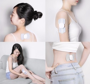 Image 5 - Youpin LF marka taşınabilir elektrik stimülatör tam vücut Relax kablosuz kas terapi masaj sihirli çıkartmalar ofis çalışanı için