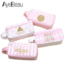 Cute Necesser Beauty Vanity Purse Organizer For Girl Women Makeup Cosmetic Make Up Bag In Pencil Pen Case Anime Pouch Brush