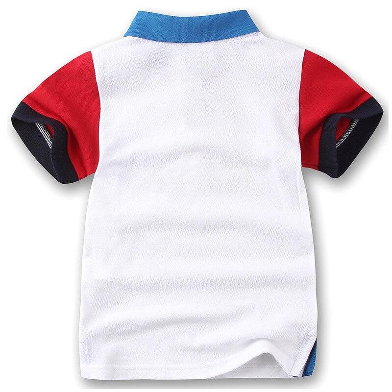 Chłopcy Koszulki polo Dzieci 2018 Letnie ubrania z krótkim rękawem - Ubrania dziecięce - Zdjęcie 2
