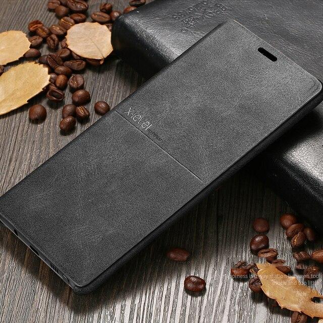 X Đẳng Cấp Sang Trọng Chất Lượng Hàng Đầu Retro Cổ Điển Lật Bao Da Dành Cho Samsung Galaxy Samsung Galaxy S8 S7 Edge S10e Plus Note 9 8 Note 7 5 Flip Cover