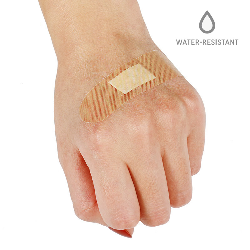 20/50/100Pcs Waterproof Wound Adhesive Plaster Medical Band-Aid Bandages First Aid Home Travel Outdoor Camp Emergency Kits