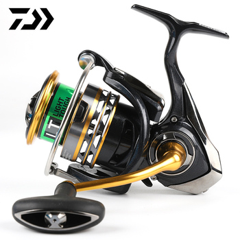 DAIWA Original EXCELER  LT 2 SPEED 1000 2000 2500 3000 4000 5000 6000 Spinning Fishing Reel High Gear Ratio 5.2:1 5BB LT Body