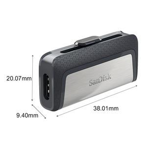 Image 4 - Sandisk Pendrive 32GB usb c Flash Drive 64GB 128GB 256GB SDDDC2 Type C Disk On Key Cle USB Computer Gift USB 3.1 For Galaxy